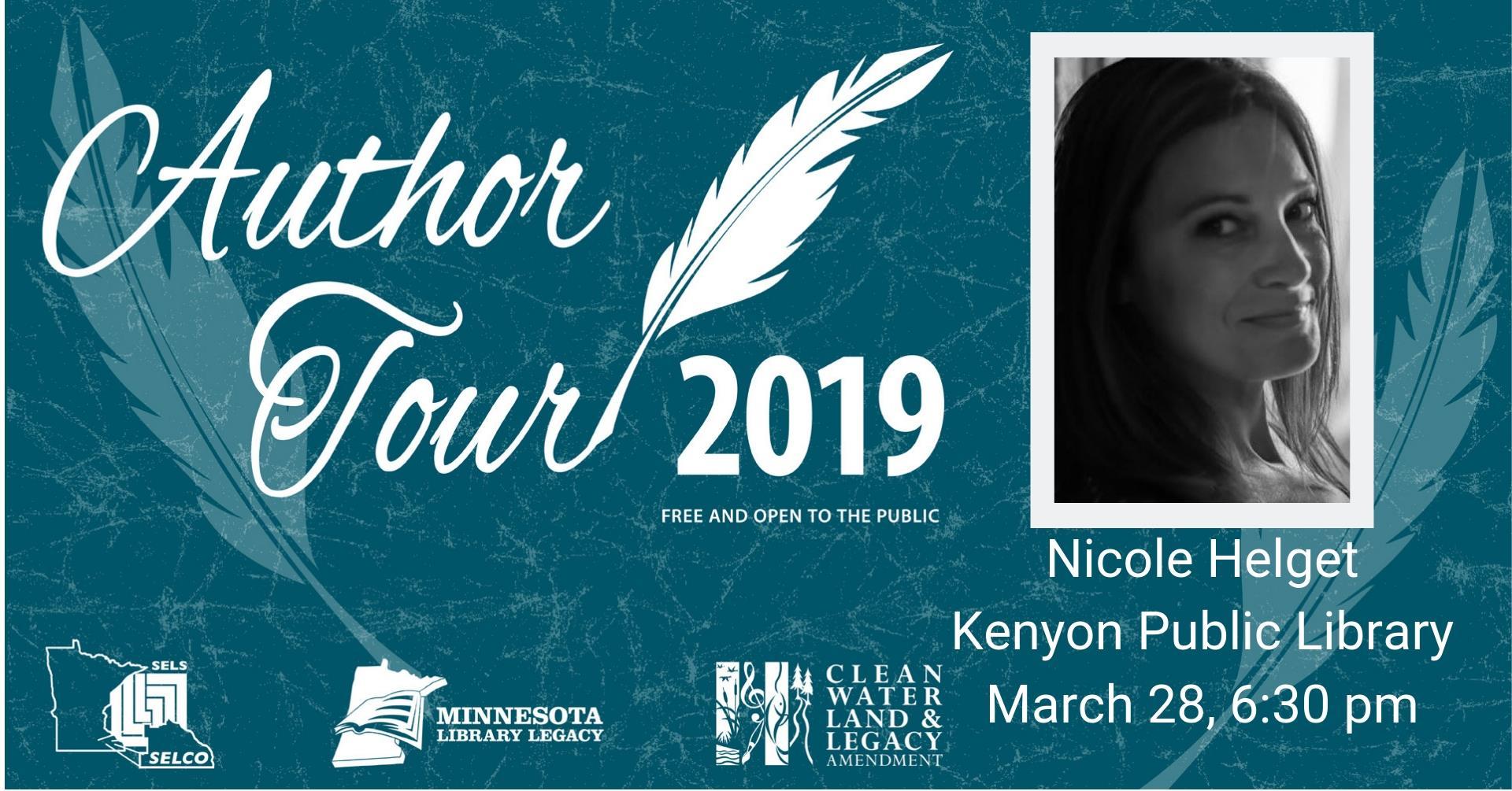 Author Tour: Nicole Helget