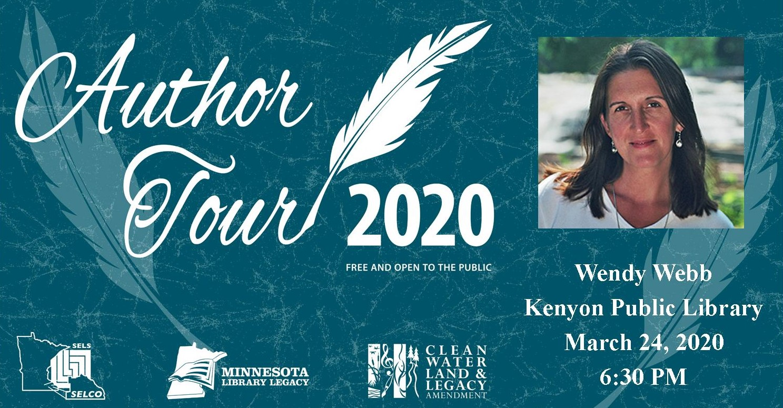 CANCELED: Author Tour: Wendy Webb